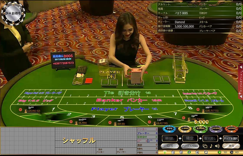 オールベットゲーミング エルドアカジノ ライブカジノ