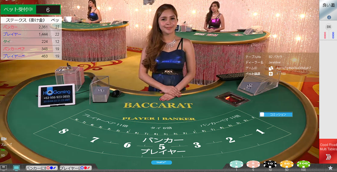Hogaming ライブカジノ